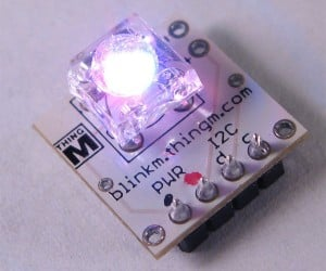 Blinkm: Arduino Programmable Leds Let You Control the Pretty Colors