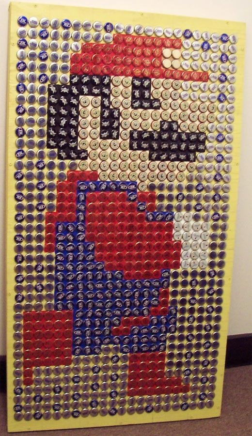 bottle cap mario