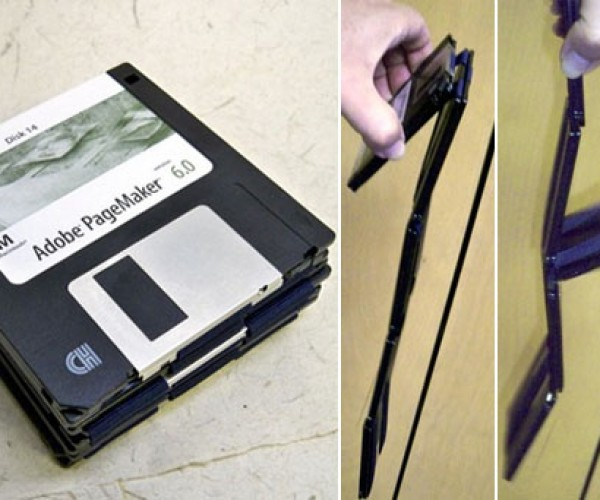3.5-Inch Floppy Disks Get New Life as Jacob'S Ladder Toy