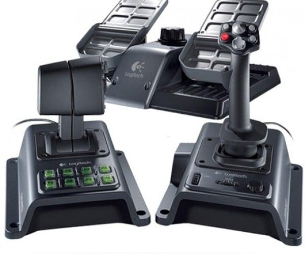 Logitech Flight System G940: for Serious Virtual Pilots