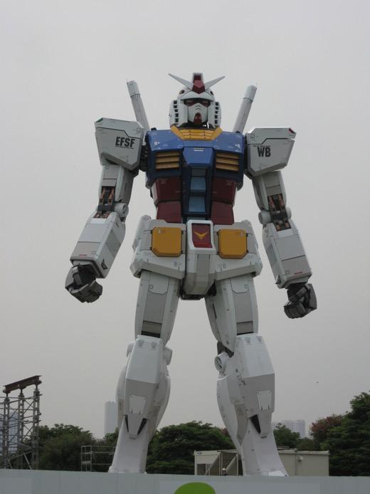 gundam statue 1