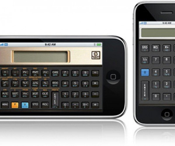 Hp Calculator iPhone Apps: Almost Worth Buying Just for Their Looks