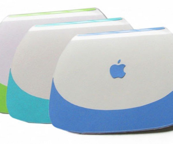 Clamshell Ibook Greeting Cards Say Happy Birthday From Mac to You