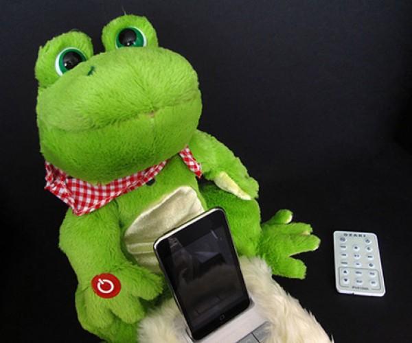 Ozaki Imini Pet iPod Dock/Radio/Alarm Clock: Cute or Just Plain Creepy?