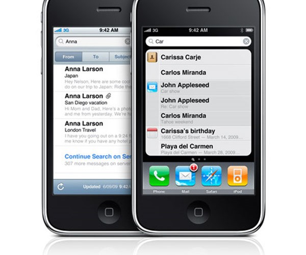 IPhone 3gs Spotlight Search