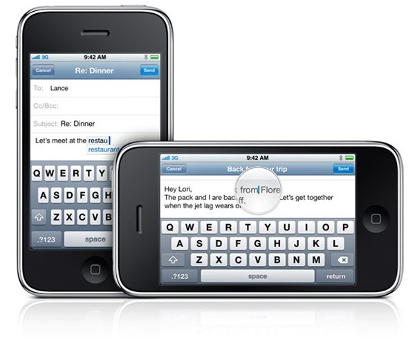 IPhone 3gs Landscape Keyboard
