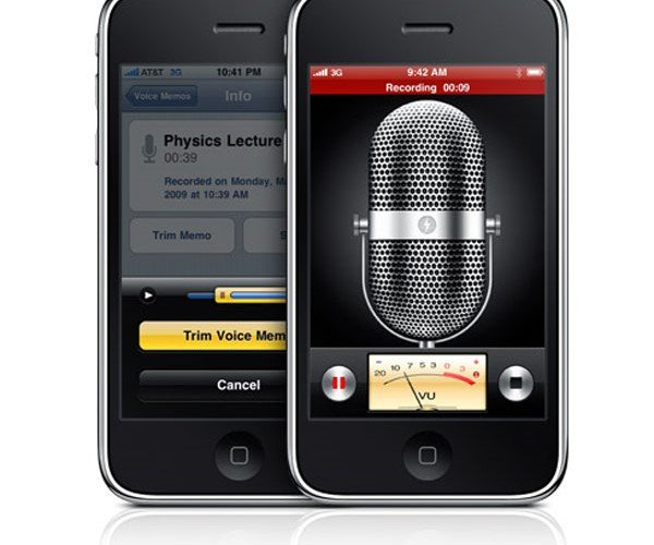 IPhone 3gs Voice Recorder