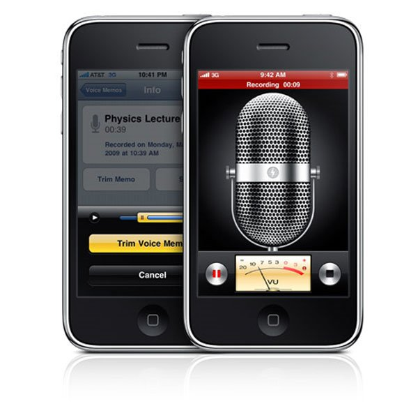 iphone voice recorder iphone 3gs voice recorder technabob 12446