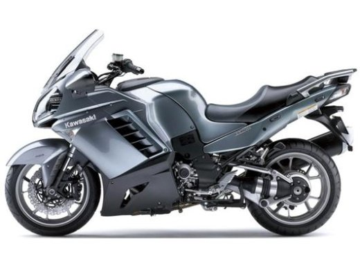 2009 Kawasaki 1400 GTR motorcycle