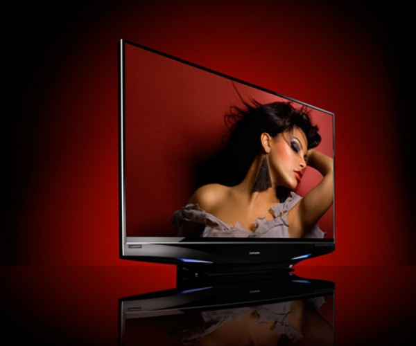 """Mitsubishi Laservue Projection Tv: Yet Another Expensive """"World'S First"""" Gadget"""