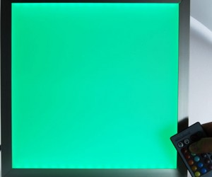 LED Color-Changing Flat Panels Perfect for Home Discos