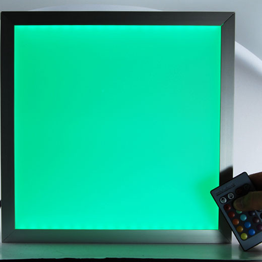 led color panel green