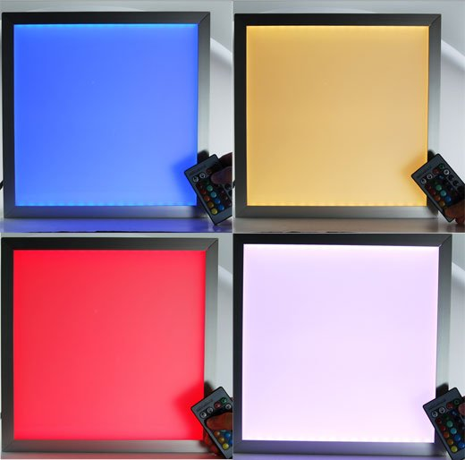 Bright Room Light Flat Panels