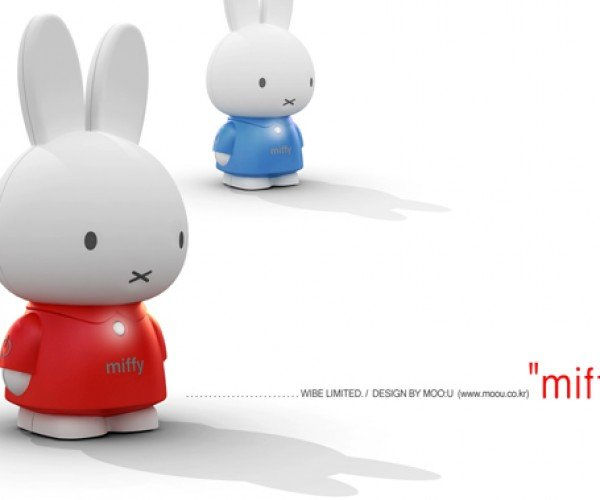 Miffy Digital Audio Player: Minimalist Cuteness