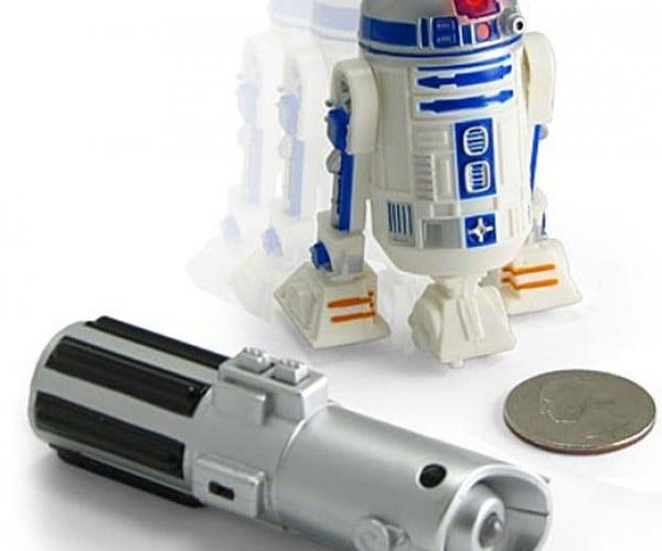 Mini R2-D2 Drives Around Your Desktop, Where'S C-3PO?