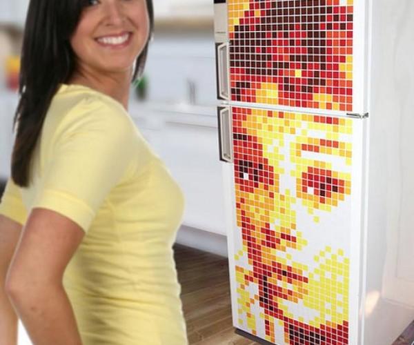 Motifo Fridge Magnets: Pop Art in Pixels
