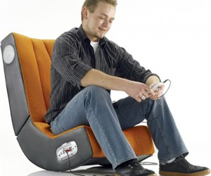 Mur-01 Seat With Built-in Speakers: Now That'S a Seriously Rocking Chair
