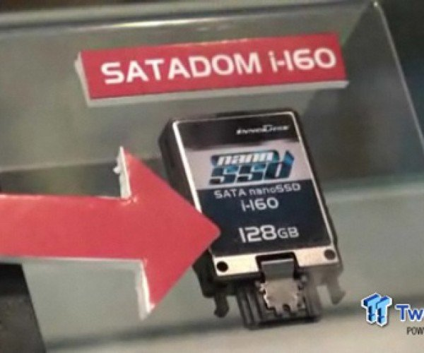 Tiny Innodisk 128 Gb Nano Ssd Flaunted and Tortured at Computex