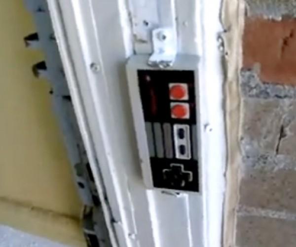 NES Controller Doorbell: I'D Hit That