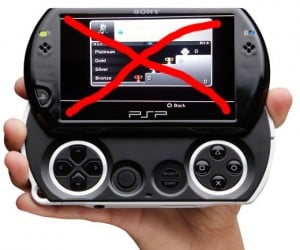 No Psp Trophies Because of Absence of 2nd Analog Nub *Kidding* Because of Piracy.