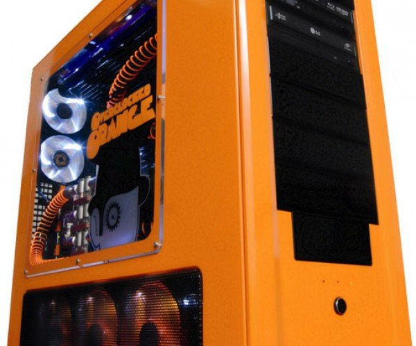 Clockwork Orange Overclocked Custom Pc: Viddy Well Done