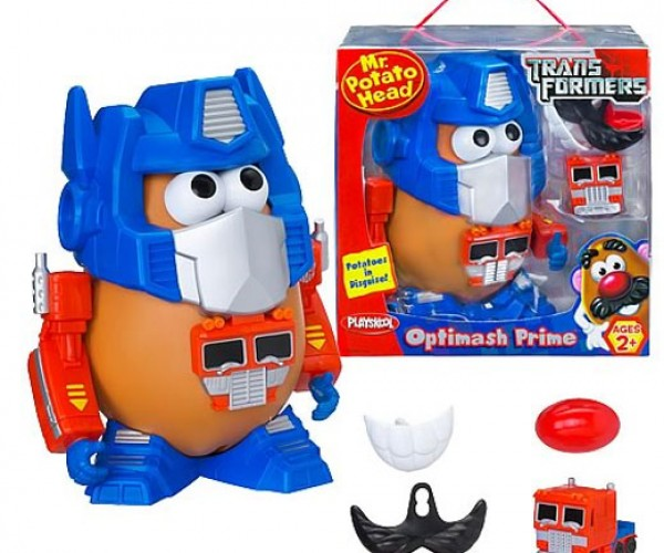 Optimash Prime and Bumblespud: Potatoes in Disguise [Transformers]