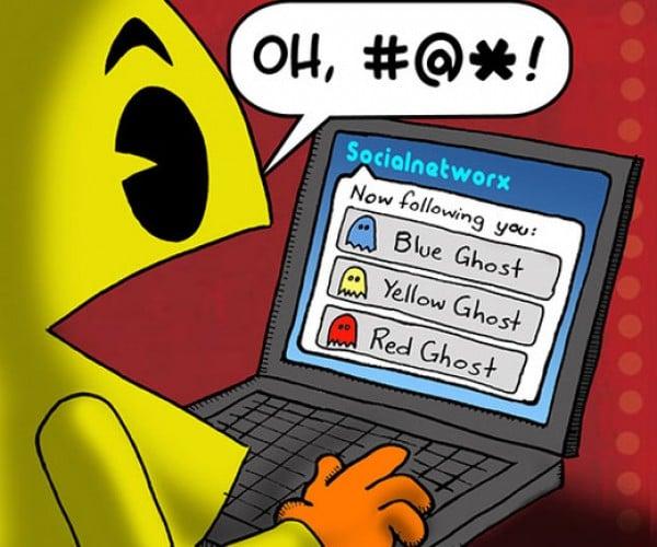Pac-Man on Twitter