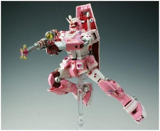 pink gundam 2