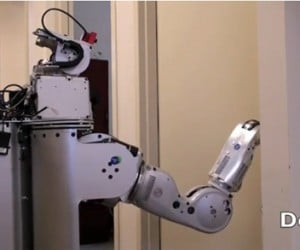 One Giant Leap for Robotkind: Robot Successfully Opens Doors, Plugs Own Power Cord