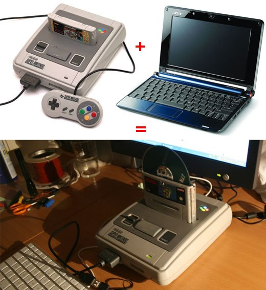 snes pc casemod aasnes1