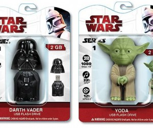 Star Wars Flash Drives: Don'T Use the Force to Push 'Em Into Your USB Slot
