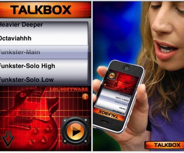 IPhone Talkbox: Like Peter Frampton Got Stuck in Your Phone