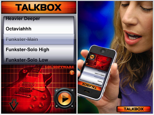 talkbox iphone