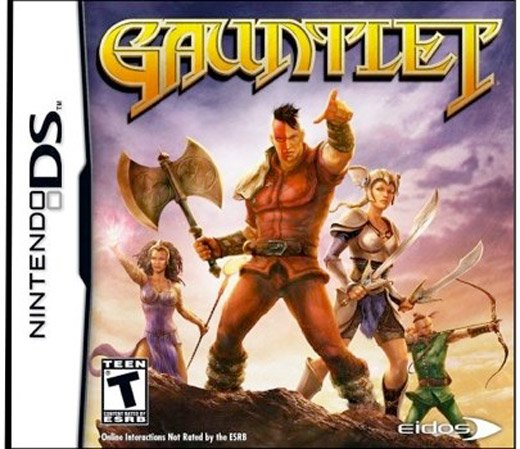 gauntlet nintendo ds majesco