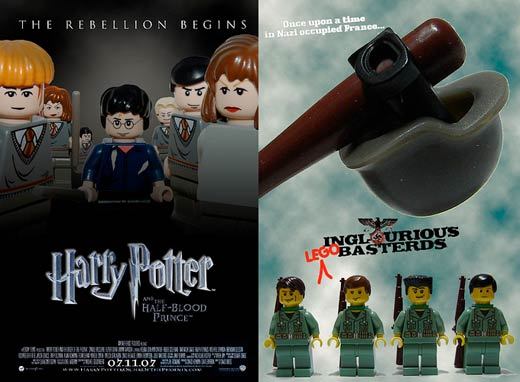 lego movie poster harry potter inglourious basterds