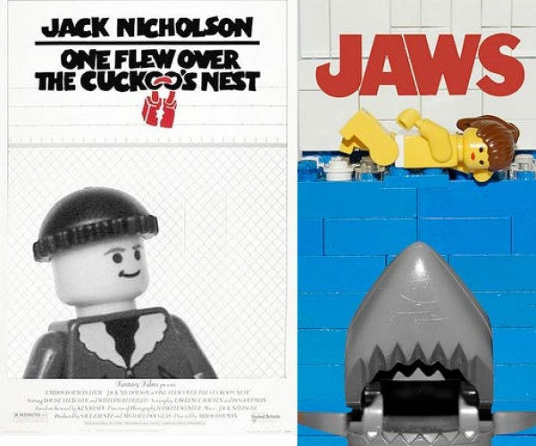LEGO Movie Posters by a Bunch of Blockheads