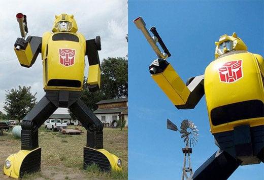 transformers replica autobot bumblebee lifesized vw bug