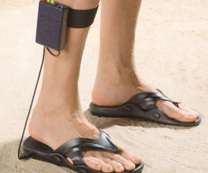 Metal Detector Sandals, So No One Can See the Depths of Your Nerdiousity