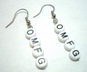 Expressing Your Utter Disbelief Through Chatspeak Earrings