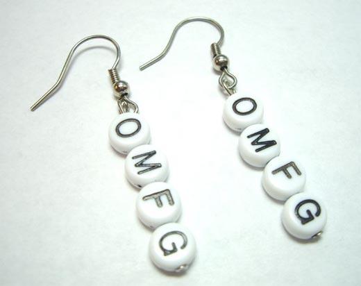 earrings omfg