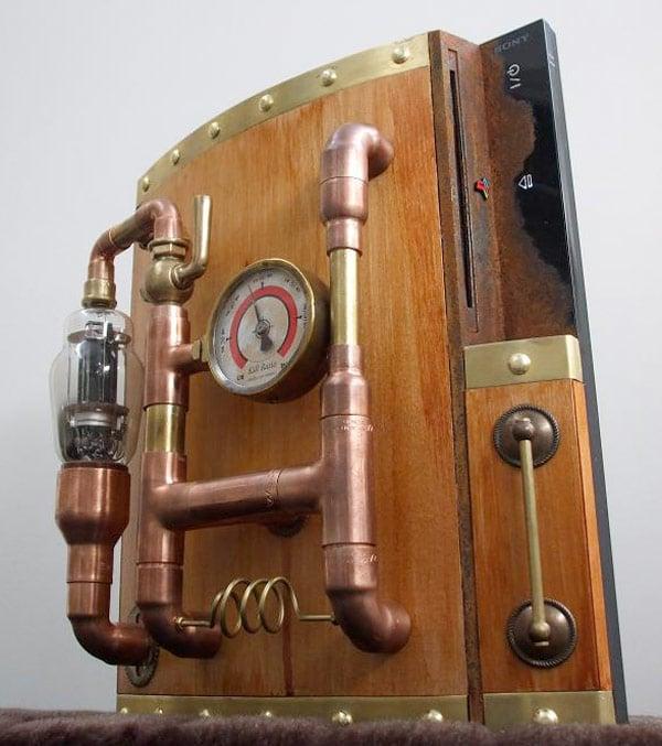 ps3 sony steampunk mod damnation