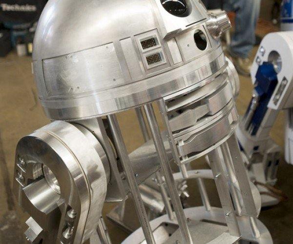 R2-D2, Stripped Down to All Metal