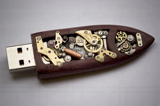 steampunk flash drive