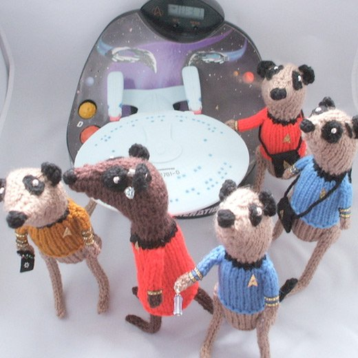 knit star trek meerkat