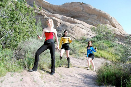 star trek corset costume