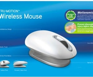Smartfish Trumotion Wireless Mouse Fights Wrist Strain Bobblehead Style