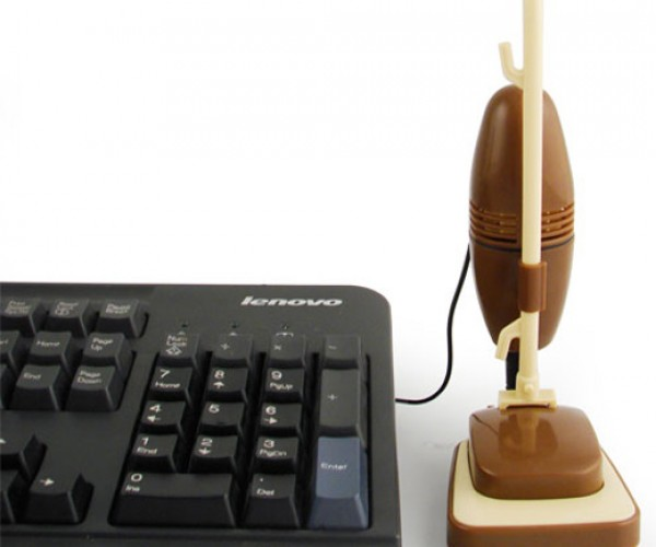 USB Retro Vacuum Cleaner: Old Gadgets Don't Die, They Just Get Miniaturized