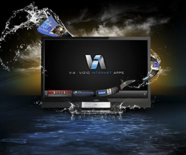 Vizio Xvt LCD Hdtvs With Internet Apps: Tweet in Hi-Def