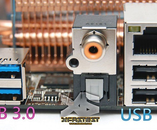 Asus P6x58 Premium World'S First USB 3.0-Equipped Motherboard. Yes! Now We Can Plug in Our – Oh Wait.