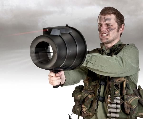 Laser Airzooka Gets Precision Aim